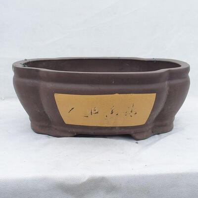 Bonsai bowl 40 x 34 x 15 cm, gray color - 1