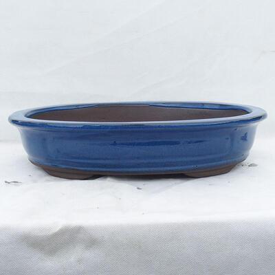Bonsai bowl 51 x 41 x 10 cm, color blue - 1