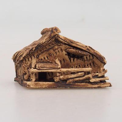 Ceramic figurine - Chatrč - 1