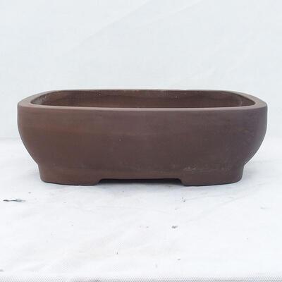 Bonsai bowl 39 x 29 x 12 cm, gray color - 1
