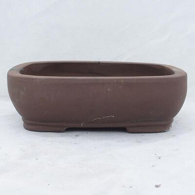 Bonsai bowl 31 x 24 x 9.5 cm, gray color - 1