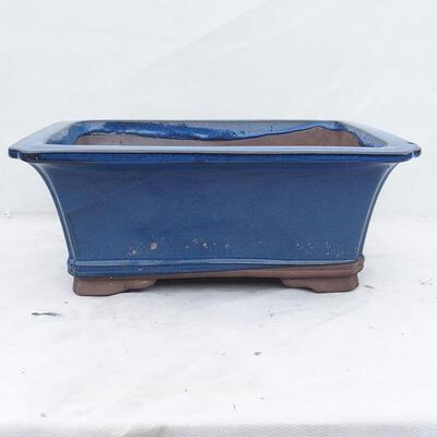 Bonsai bowl 42 x 32 x 17 cm, color blue - 1