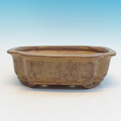 Bonsai ceramic bowl CEJ 53, beige - 1