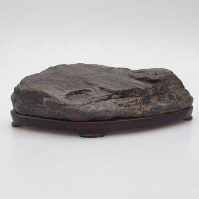 Suiseki - Stone with DAI (wooden mat) - 1
