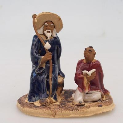 Ceramic figurine - two wise men - 1