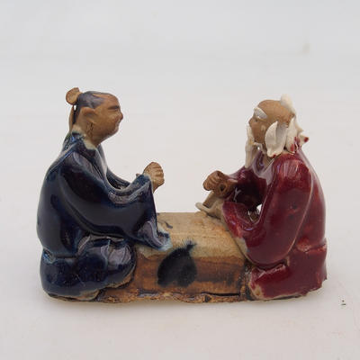 Ceramic figurine - two players - 1