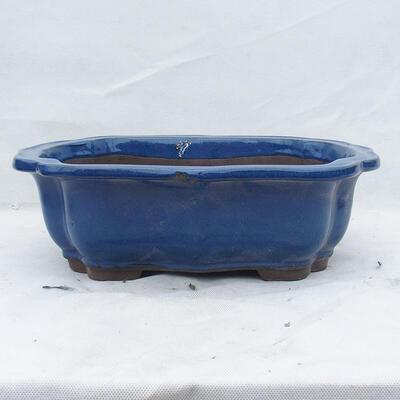 Bonsai bowl 39 x 32 x 12 cm, color blue - 1