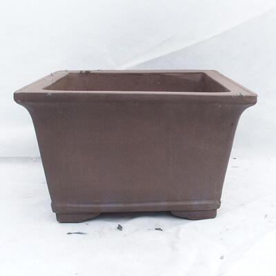 Bonsai bowl 45 x 45 x 26 cm, gray color - 1