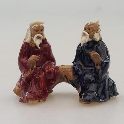 Ceramic figurine - pair of players - 1