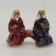 Ceramic figurine - pair of players - 1/2