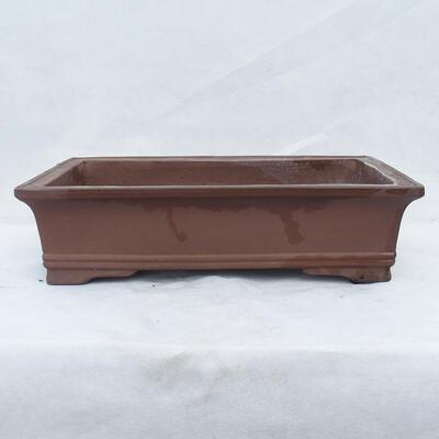 Bonsai bowl 49 x 29 x 13 cm, gray color - 1