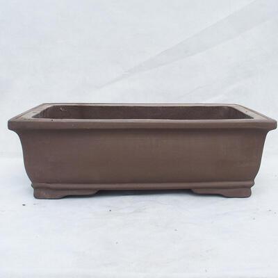 Bonsai bowl 46 x 25 x 15 cm, gray color - 1