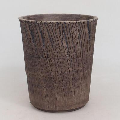 Ceramic bonsai bowl 15 x 15 x 17.5 cm, cracked color - 1