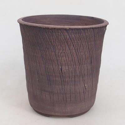 Ceramic bonsai bowl 17 x 17 x 17 cm, color cracked - 1