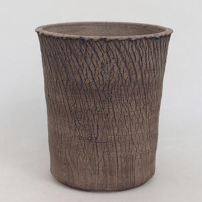 Ceramic bonsai bowl 15 x 15 x 17 cm, color cracked - 1