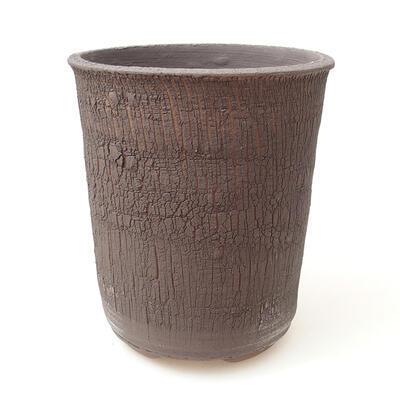 Ceramic bonsai bowl 13 x 13 x 15.5 cm, color cracked - 1