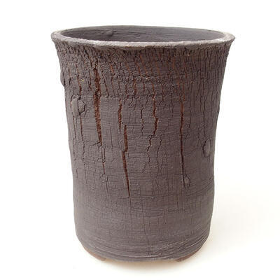 Ceramic bonsai bowl 11.5 x 11.5 x 15 cm, color cracked - 1