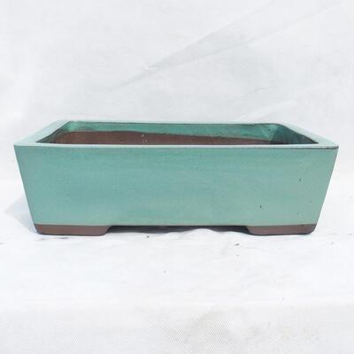 Bonsai bowl 41 x 29 x 12 cm, color green - 1