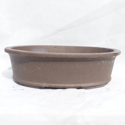 Bonsai bowl 50 x 38 x 14 cm, gray color - 1