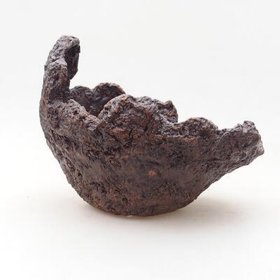 Ceramic shell 17 x 15 x 15 cm, gray color - 1