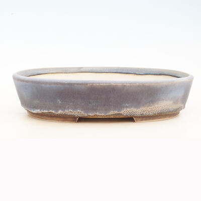 Bonsai bowl 40 x 31 x 9 cm, gray-blue color - 1