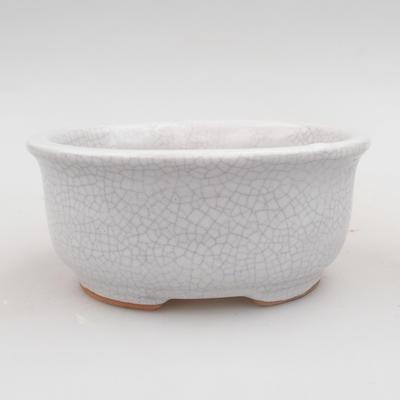 Ceramic bonsai bowl 12 x 10 x 5 cm, crayfish color - 1