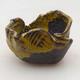 Ceramic shell 6.5 x 7 x 6 cm, color yellow - 1/3