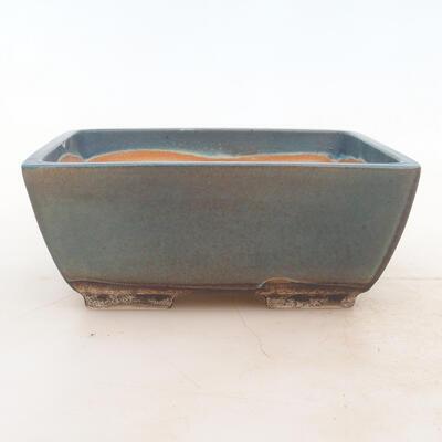 Bonsai bowl 17 x 13 x 7 cm, color blue - 1