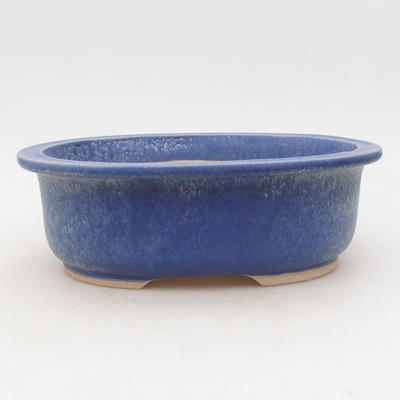 Ceramic bonsai bowl 23 x 19 x 8 cm, color blue - 1