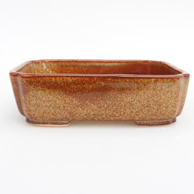 Ceramic bonsai bowl - fired in gas oven 1240 ° C - 2nd quality - 1