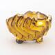 Ceramic shell 7 x 7 x 5.5 cm, color yellow - 1/3