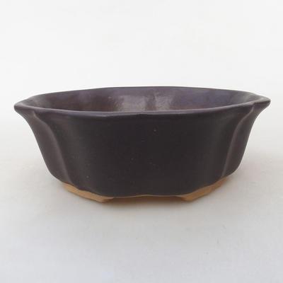 Ceramic bonsai bowl H 06 - 14,5 x 14,5 x 4,5 cm - 1