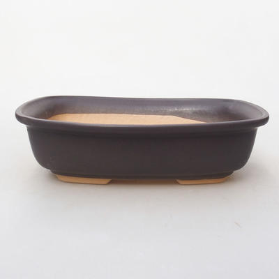 Ceramic bonsai bowl H 08 - 24,5 x 18 x 7 cm - 1