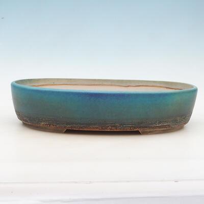 Bonsai bowl 43 x 34 x 9.5 cm, gray-beige color - 1
