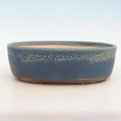 Bonsai bowl 31 x 24 x 10 cm, color blue - 1