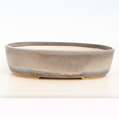 Bonsai bowl 36 x 27 x 9.5 cm, gray color - 1