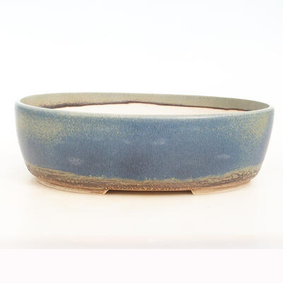 Bonsai bowl 34 x 27 x 10.5 cm, color blue-green - 1