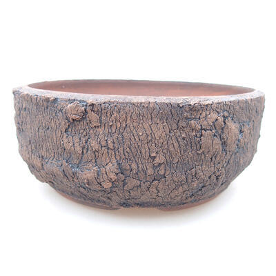 Ceramic bonsai bowl 15.5 x 15.5 x 6 cm, cracked color - 1