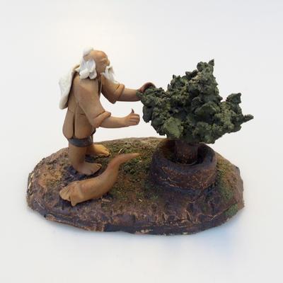 Ceramic figurine - Bonsaijista - 1