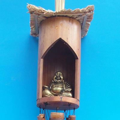 Bamboo wind chimes Budha 120 cm - 1
