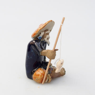 Ceramic figurine - Fisherman - 1