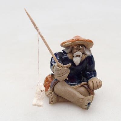 Ceramic figurine - Fisherman F22 - 1