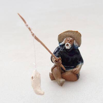 Ceramic figurine - Fisherman F4 - 1