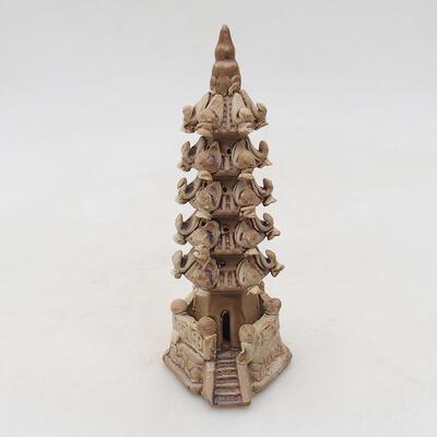 Ceramic figurine - Pagoda F9 - 1