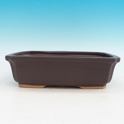 Ceramic bonsai bowl H 07 - 30 x 21,5 x 8,5 cm - 1