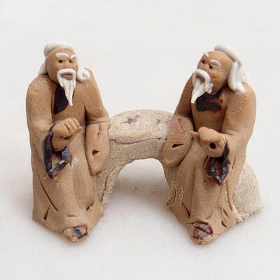 Ceramic figurine - Stick figure H17 - 1