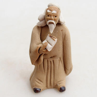 Ceramic figurine - Stick figure H27j - 1