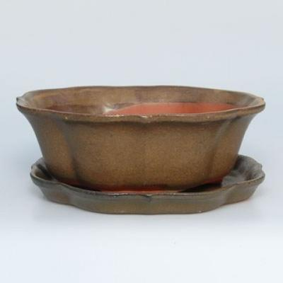 Bonsai bowl tray of water H06 - 1