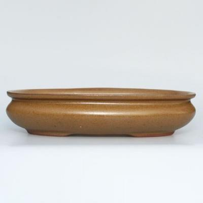 Ceramic bonsai bowl H 15 - 26,5 x 17 x 6 cm - 1