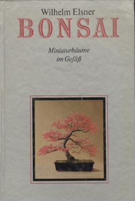 Bonsai miniaturbäume im Gefäb -Wilhelm Elsner